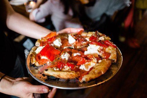 Bonci pizza pomodoro