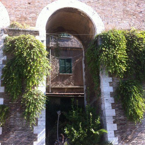 mandrione aqueduct detail