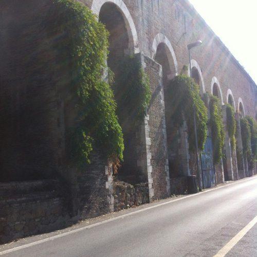 mandrione aqueduct