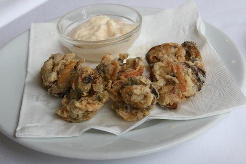 Fried Mussels