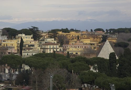 Monte Testaccio Panorama