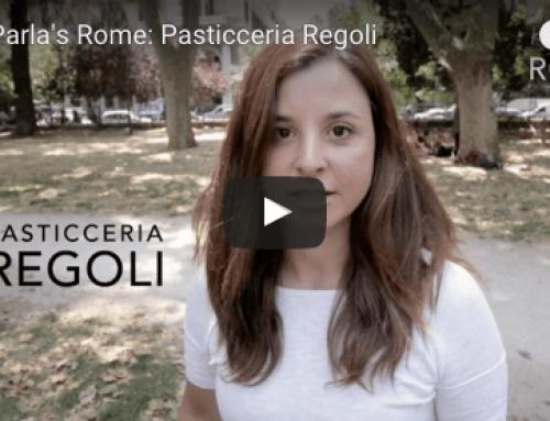 Rome's Pasticceria Regoli, 100 Years of History