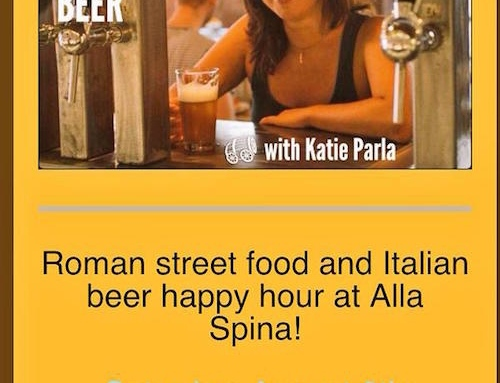 Italian Craft Beer Event at Philly's Alla Spina