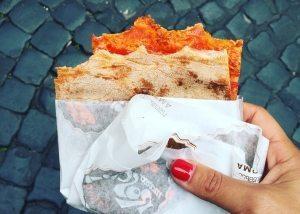 pizza rossa roscioli