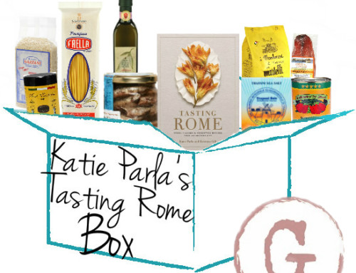 Giveaway: Delicious Foods from Gustiamo and A Copy of Tasting Rome
