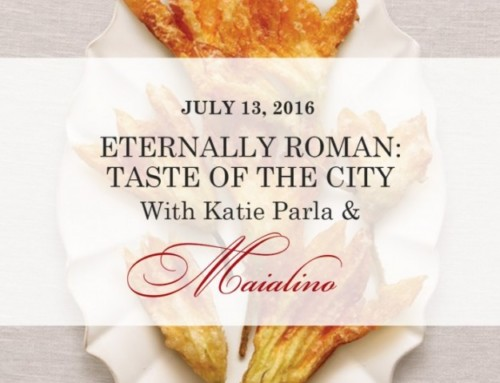 Join Me for a Tasting Rome Night July 13 at Maialino in NYC