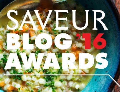 Please Vote For Me For Saveur Blog Award