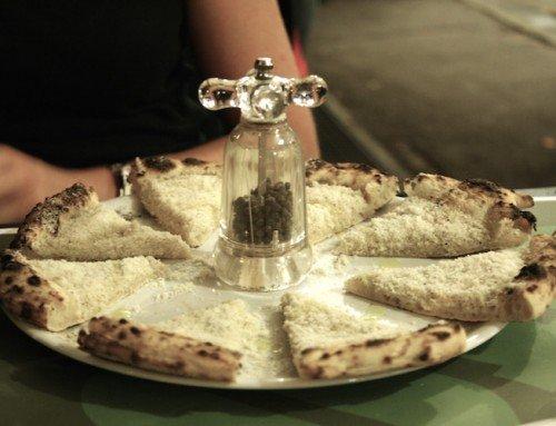 Stefano Callegari's Cacio e Pepe Pizza