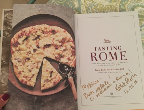 Signed Copies of Tasting Rome